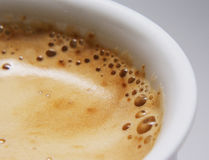 Coffee foam Royalty Free Stock Images