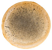 Coffee foam Stock Image