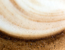 Coffee foam Stock Photography