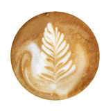 Coffee Foam Art Stock Images