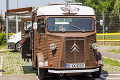 Coffee and food truck Stock Photography