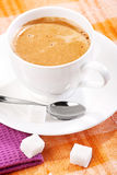 Coffee with forth Royalty Free Stock Photography