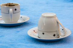 Coffee fortune-telling Royalty Free Stock Image