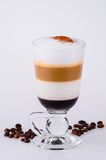 Coffee in four colors Royalty Free Stock Photos