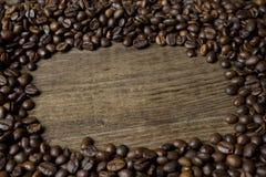 Coffee frame Royalty Free Stock Photos