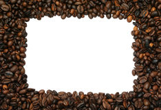 Coffee frame #2 Royalty Free Stock Image