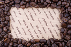 Coffee frame 2 Stock Photo