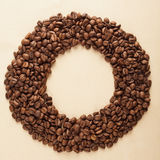Coffee frame Royalty Free Stock Photography