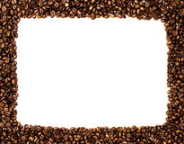 Coffee frame Royalty Free Stock Photo