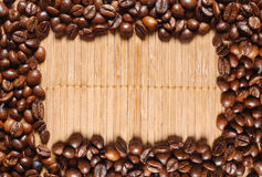 Coffee frame Stock Image