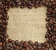 Coffee frame Stock Photography