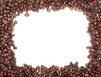 Coffee frame. Stock Photos