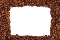 Coffee frame Royalty Free Stock Images
