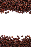 Coffee frame background Royalty Free Stock Photo