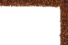 Coffee frame scope background Stock Photos