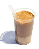 Coffee frappe with rich foam Stock Photography