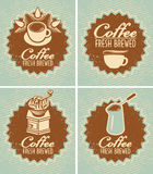 Coffee fresh brewed Royalty Free Stock Photo