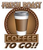 Coffee Fresh Roast To Go Stock Photos