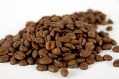 Coffee fried grains Stock Photography