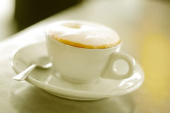 Coffee froth Royalty Free Stock Photography
