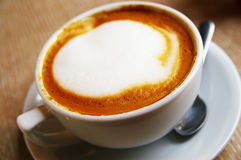Coffee froth Royalty Free Stock Images