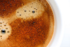 Coffee froth Stock Photos