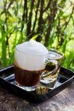 Coffee in garden Stock Photo