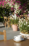 Coffee in the garden Royalty Free Stock Images