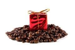 Coffee gift Stock Photos