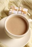 Coffee and gifts for loved ones Stock Image