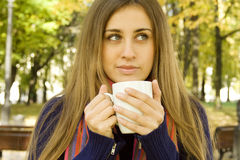 Coffee Girl Stock Photos
