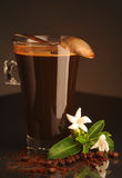 Coffee in the glass Royalty Free Stock Photos