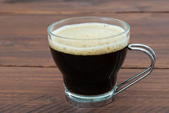 Coffee glass cup Royalty Free Stock Photography