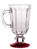 Coffee glass with red leg Stock Images