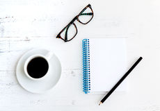 Coffee with glasses, Royalty Free Stock Photo