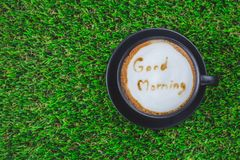 Coffee good moring Stock Photography