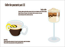 Coffee for gourmets part. II Stock Images