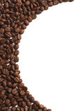 Coffee grain. On white background Stock Photography