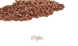 Coffee grain isolated on white background Stock Photo