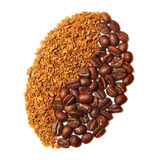 Coffee grain. Royalty Free Stock Photo