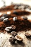 Coffee grain for roast elaboration Royalty Free Stock Photography