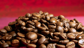 Coffee grains Stock Photo