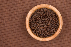 Coffee grains. Royalty Free Stock Photos