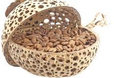 Coffee grains. Stock Photos