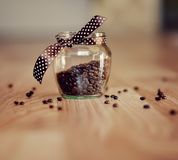 Coffee in grains Royalty Free Stock Photography