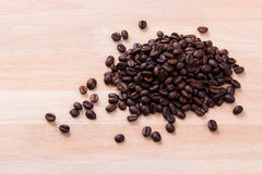 Coffee grains. Is perfect power of life Royalty Free Stock Photography