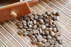 Coffee grains Royalty Free Stock Photo