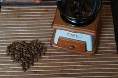 Coffee grains Stock Image