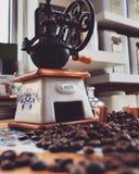 Coffee grander stock photos