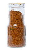 Coffee granules Stock Photos